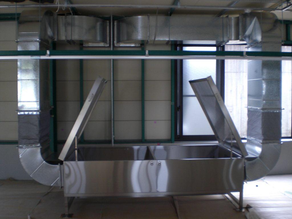 大型作業台(下方吸引)の詳細画像1