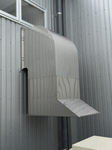 ウェザーカバー(排気フード)
