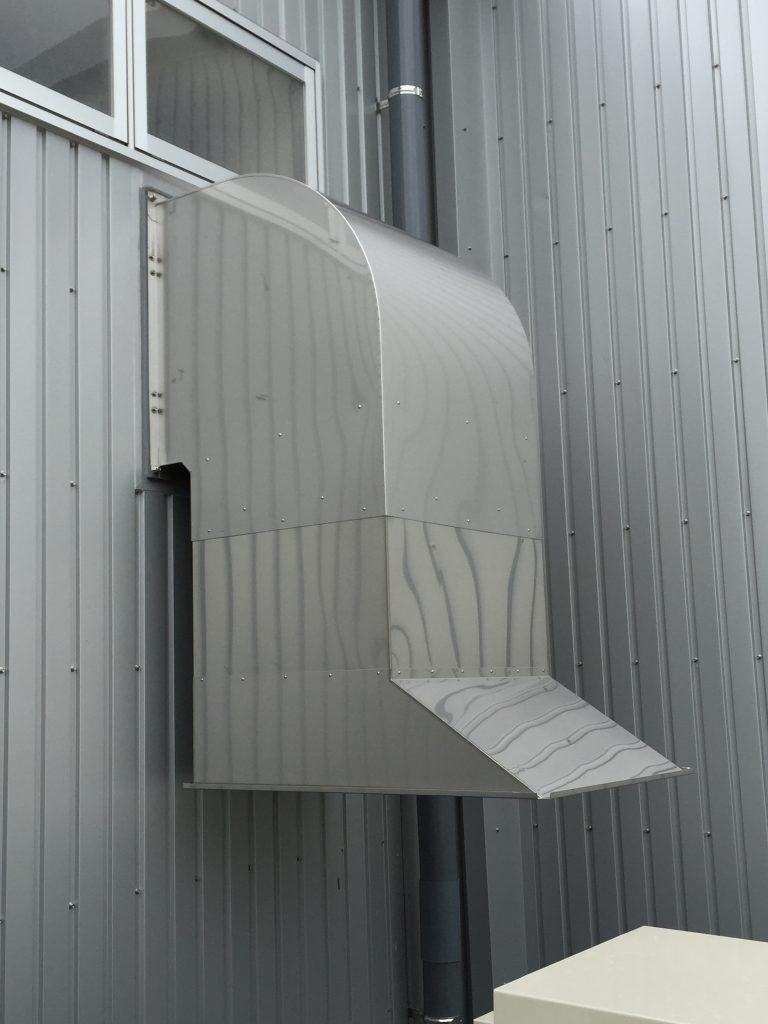 ウェザーカバー(排気フード)のメイン画像