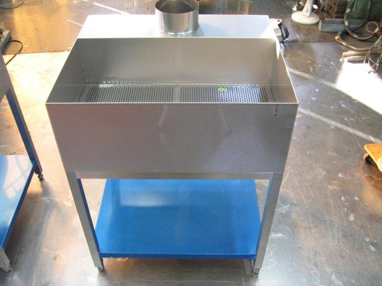 乾燥用シンク (局所排気:下方吸引)の詳細画像1