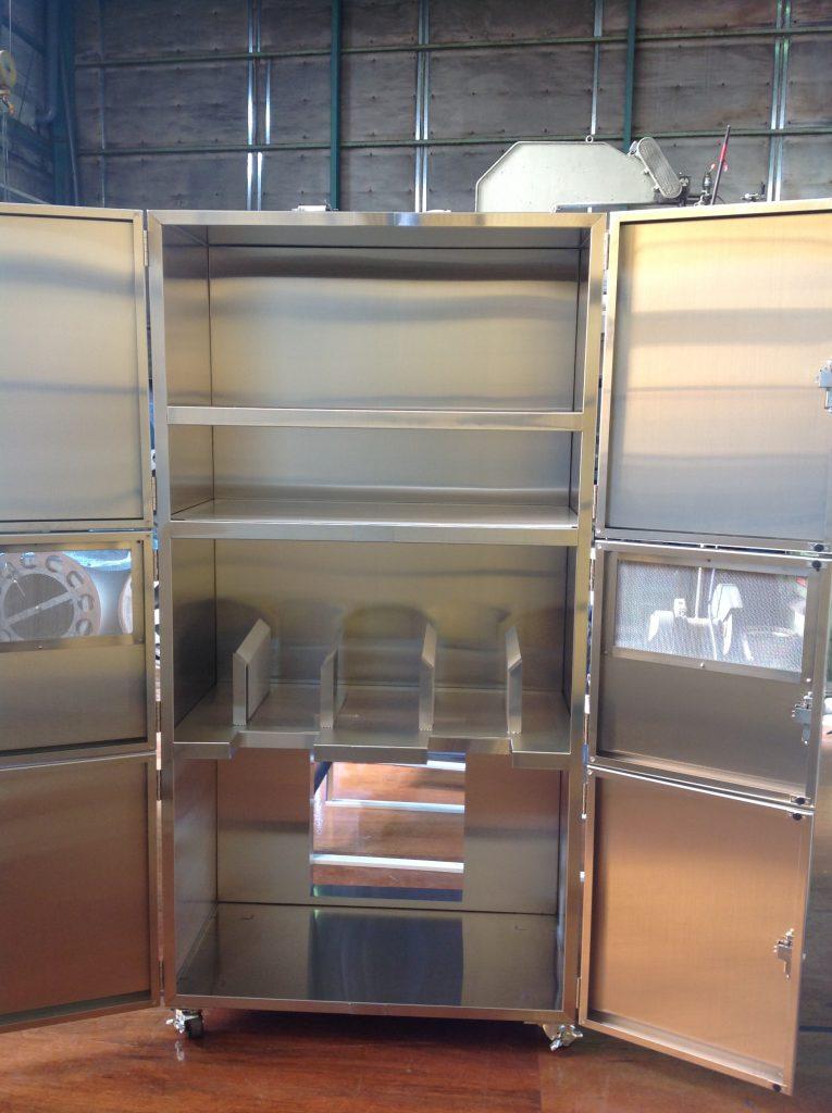 排気装置付き保管庫の詳細画像2
