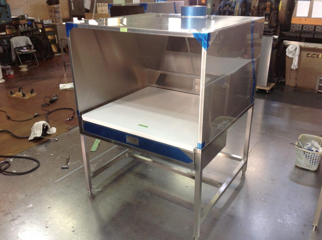 排気装置付き作業台のメイン画像