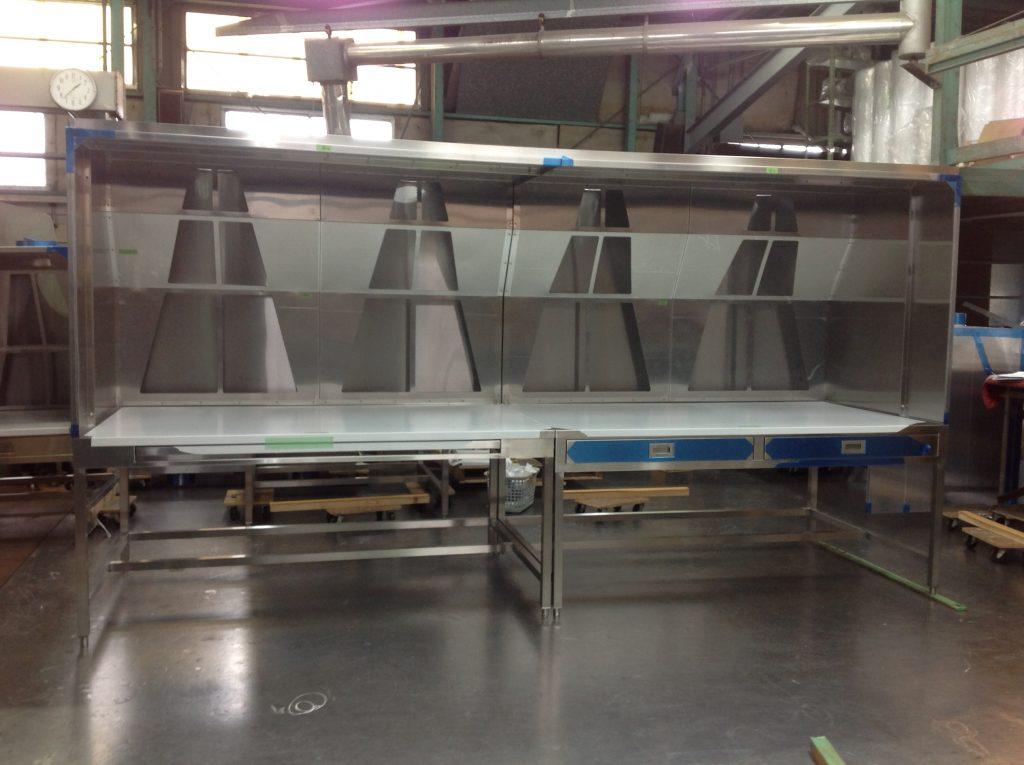 排気装置付き作業台の詳細画像5