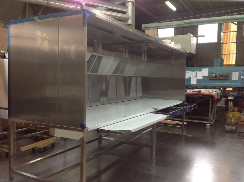 排気装置付き作業台の詳細画像3