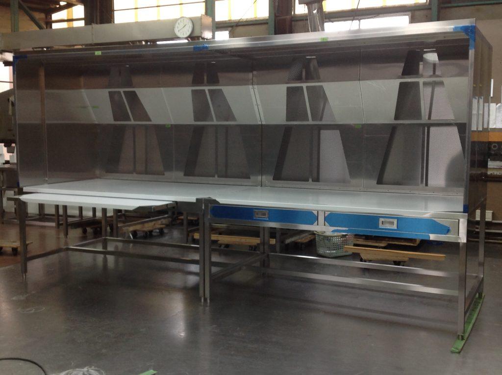 排気装置付き作業台の詳細画像4