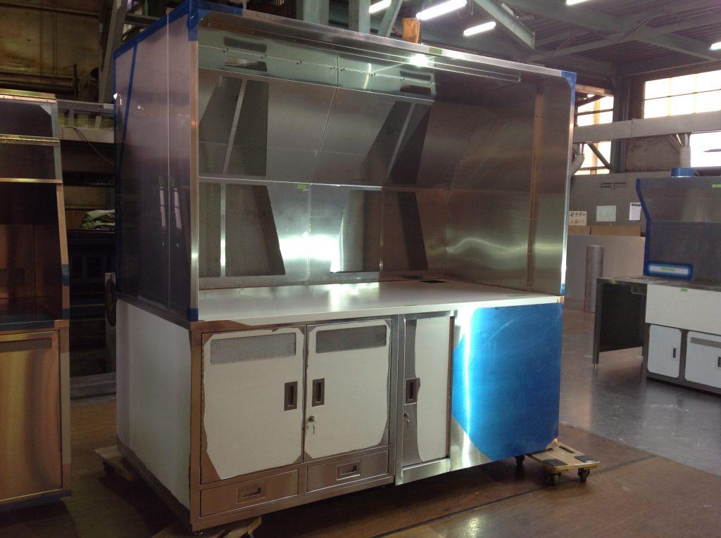 排気装置付き作業台の詳細画像1
