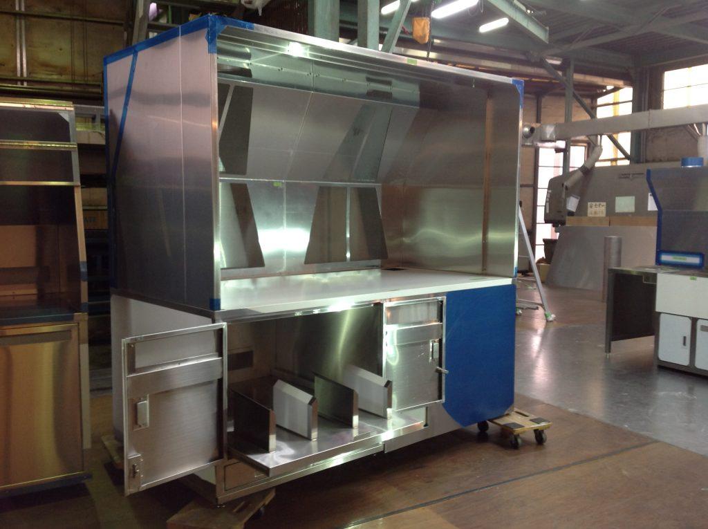 排気装置付き作業台の詳細画像2