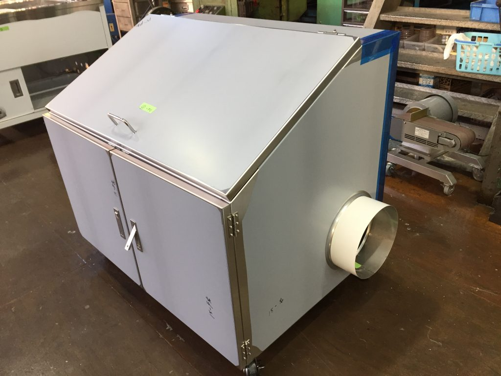 20L検体バケツ用排気BOXの詳細画像6