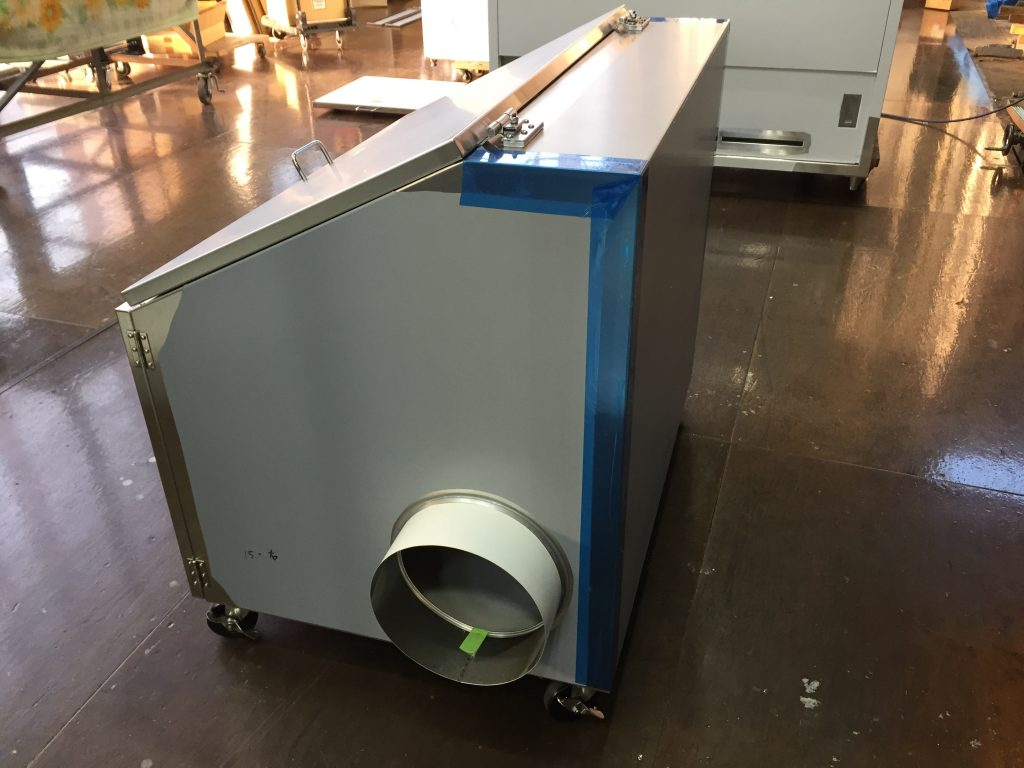 20L検体バケツ用排気BOXの詳細画像5