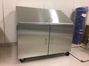 20L検体バケツ用排気BOX