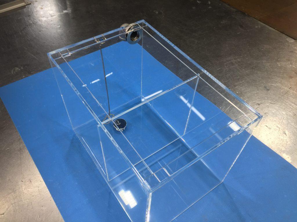アクリル水槽 (仕切り板あり)の詳細画像2