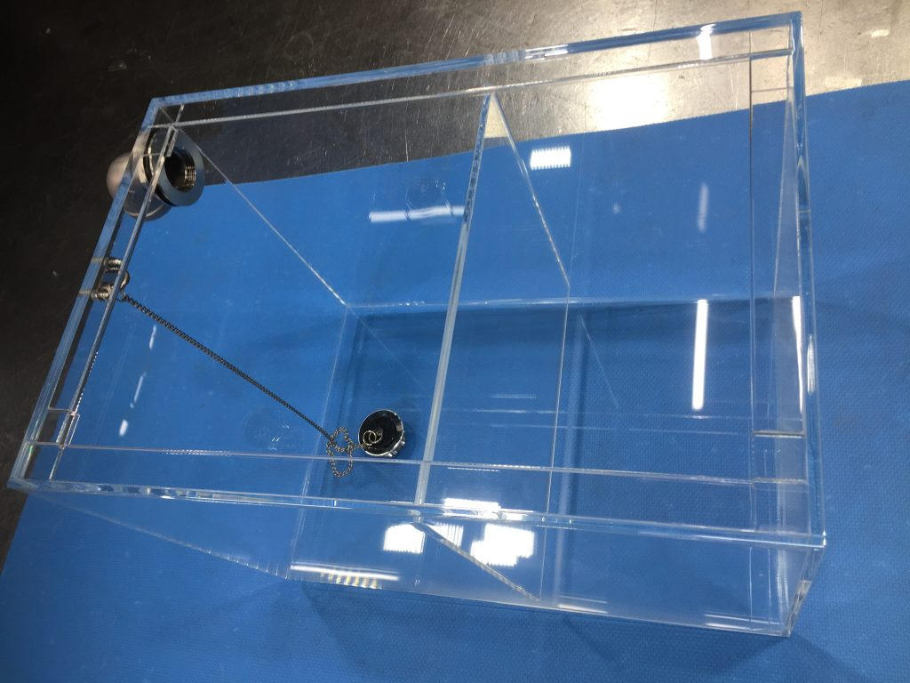 アクリル水槽 (仕切り板あり)の詳細画像3