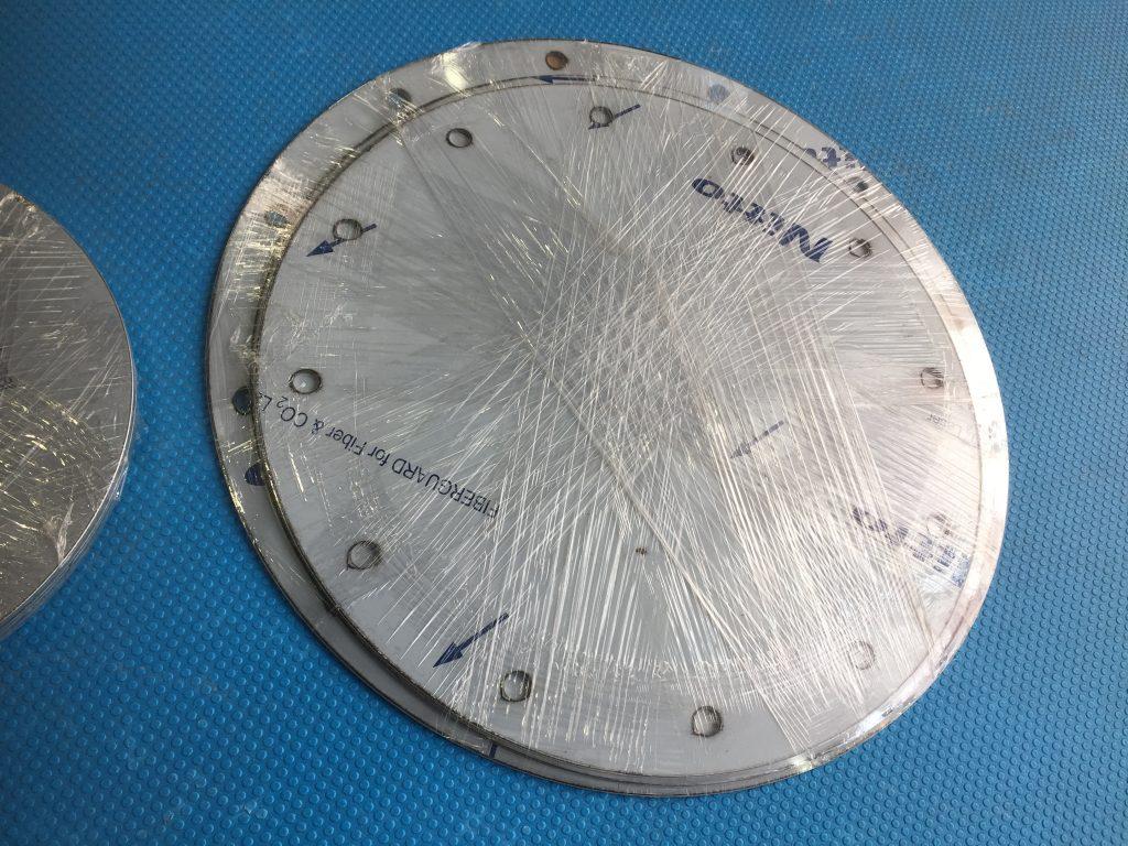板フランジ:レーザー加工の詳細画像3