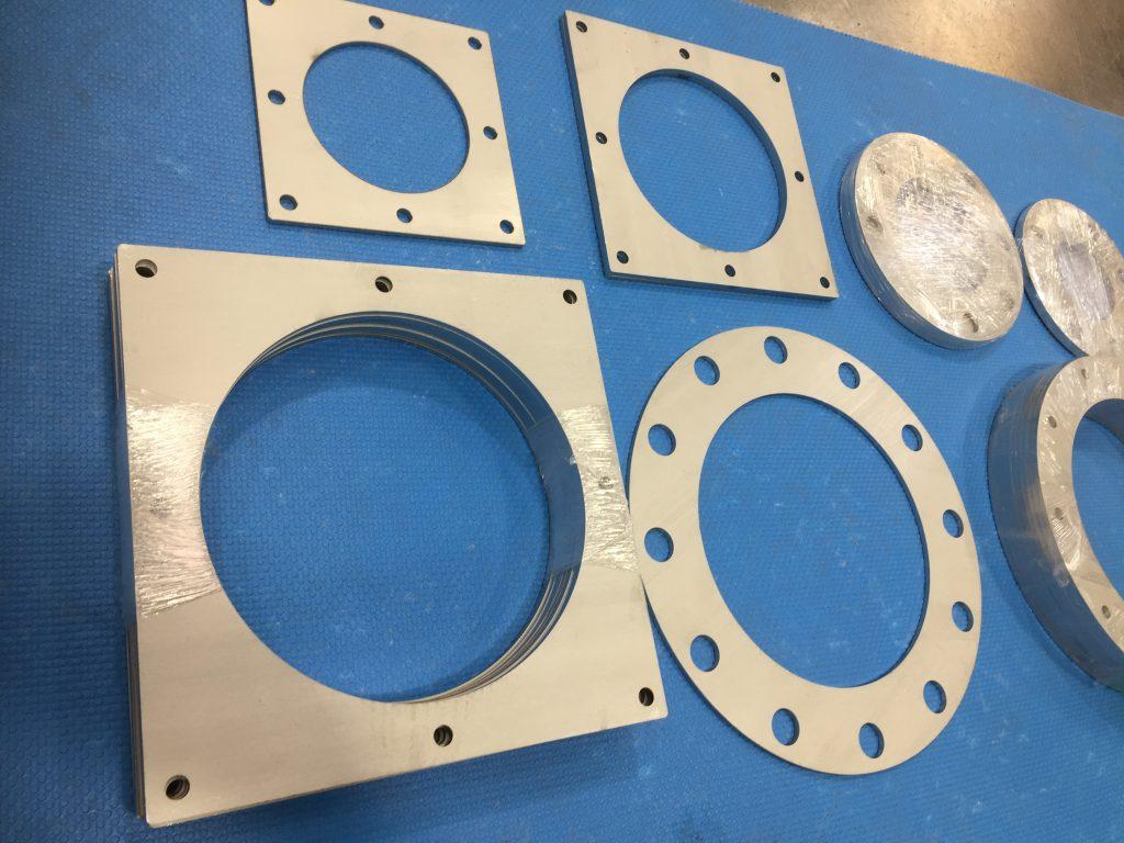板フランジ:レーザー加工の詳細画像2