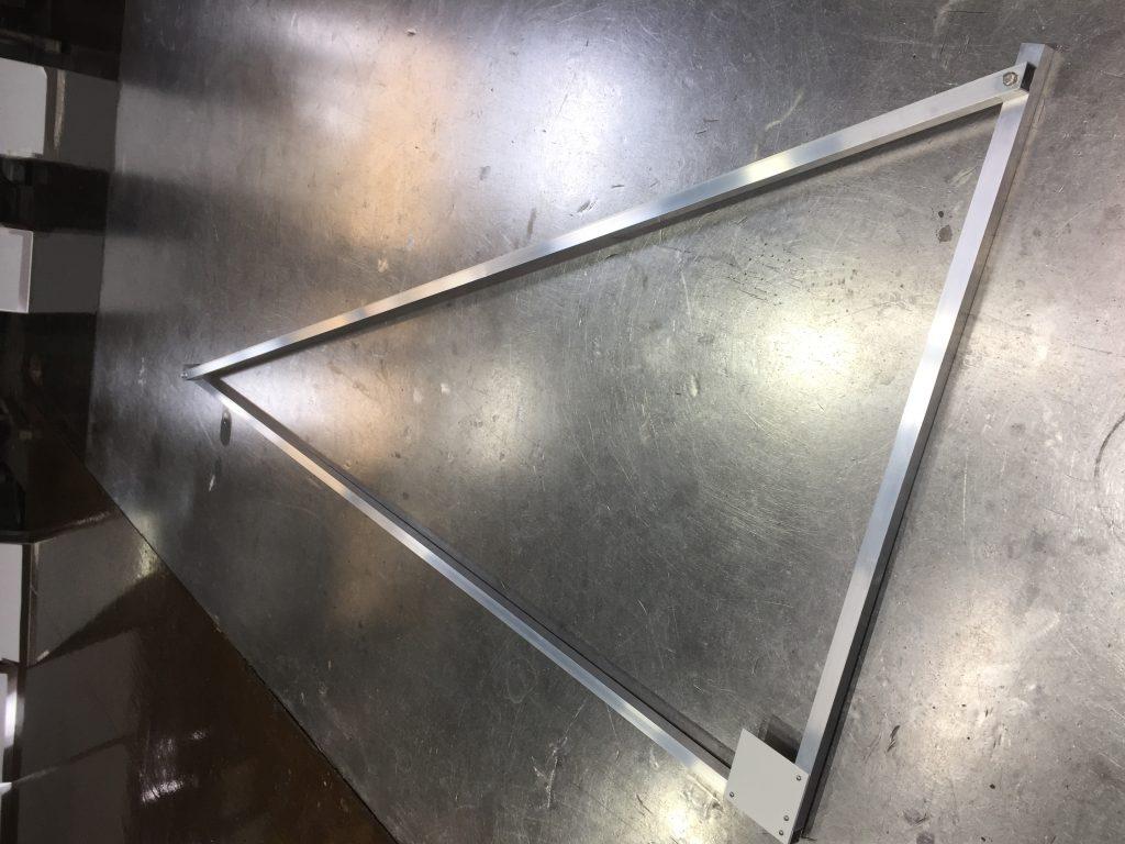 アルミ製:三角定規:ソーラーパネル用の詳細画像3