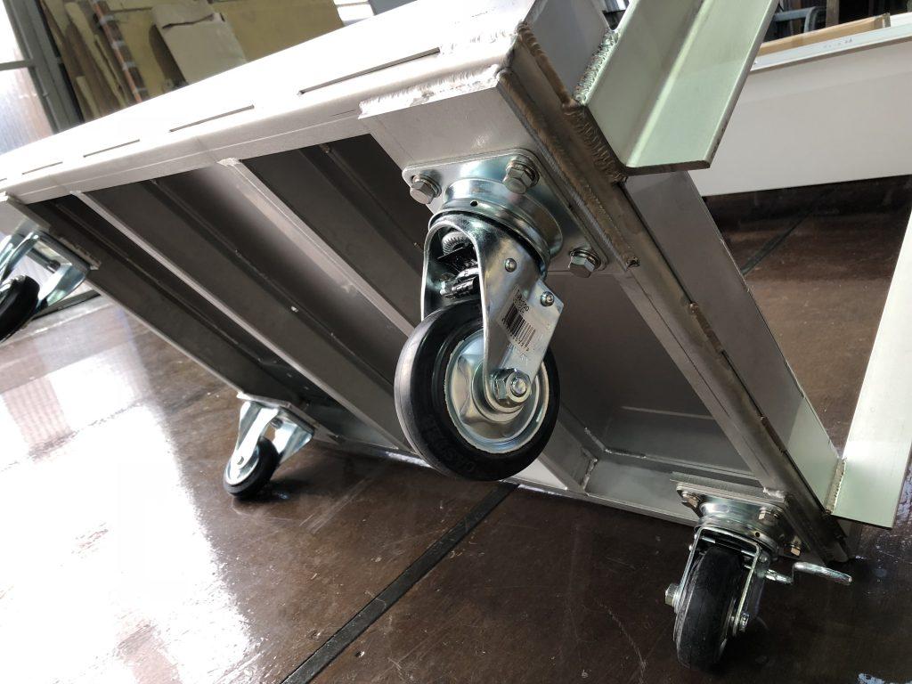 台車:重量用:ステンレスの詳細画像3